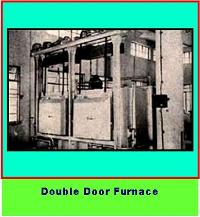 Double door furnace